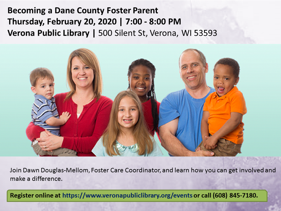 Becoming a Dane County Foster Parent